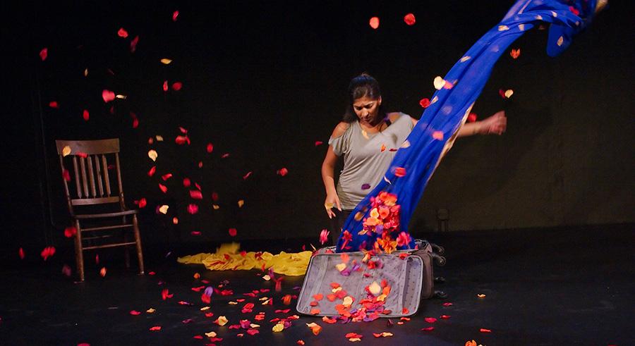 Minita Gandhi in 16th Street Theater's <i>Muthaland</i>