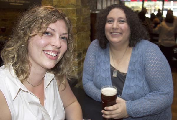 Greta Johnsen and Tricia Bobeda