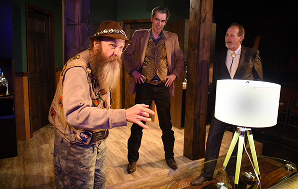 Mark Roberts, Will Clinger, and Fred Nall in <i>New Country</i>