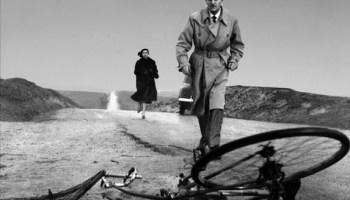 Lucia Bosè and Alberto Closas in <i>Death of a Cyclist</i>