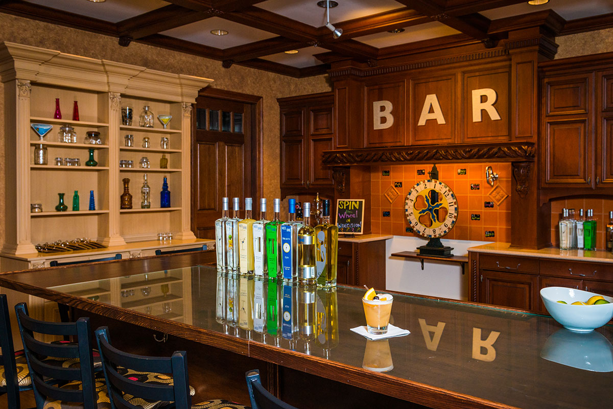 North Shore Distillery's tasting room