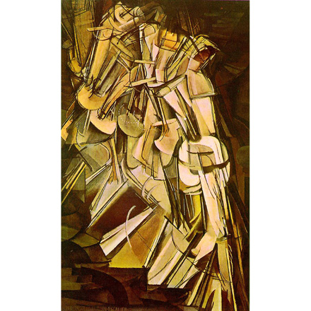 Marcel Duchamp's Nude Descending a Staircase, No. 2