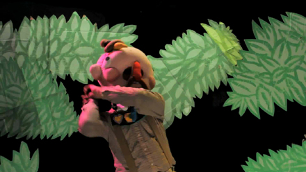 Skits, ventriloquism, video projection, and puppetry—oh my!