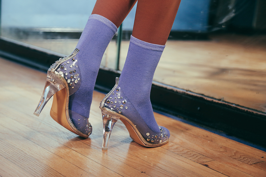 When you click your heels, these shoes don't take you to Kansas.