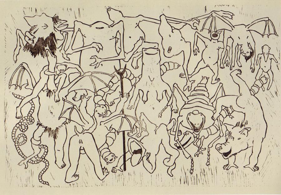 <em>Probsubrey</em>, lithograph, 1933
