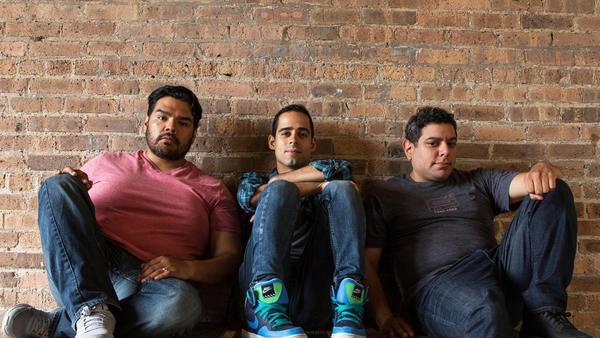 J. Salomé Martínez, Tommy Rivera Vega, and Eddie Martínez