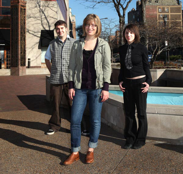 Chris Gray, Sara Fay, and Sofia Resnick