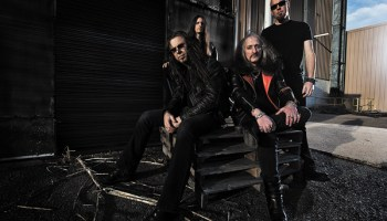 Victor Griffin (far left) has played with doom-metal pioneers Pentagram on and off since the early 80s.