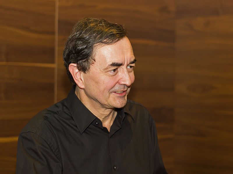 Pianist Pierre-Laurent Aimard tickles the ivories at Ravinia's Martin Theater Monday 7/31.