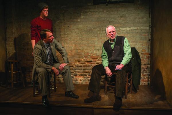 Rob Fenton, John Hoogenakker, and Patrick Clear