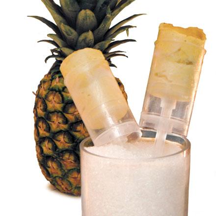 Toni Roberts's sheep's milk and pineapple push pop