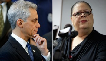 Mayor Rahm Emanuel is intent on keeping his grip on TIF funds—and fighting with Chicago Teachers Union president Karen Lewis.