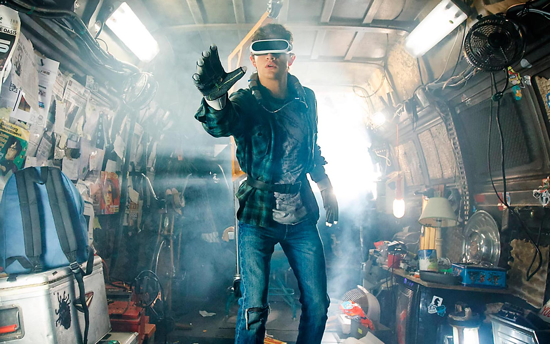 The movie adaptation of nerd-worshipping novel <i>Ready Player One</i> is coming later in 2018.