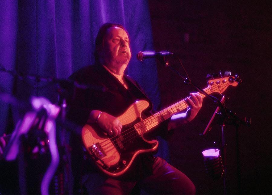 Diamondback bassist Rich Nelson