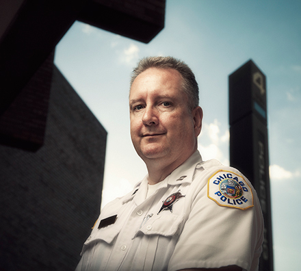"""Captain Roger Bay: """"We could ticket and arrest all we want, but the problem remains in the way people treat this community."""""""