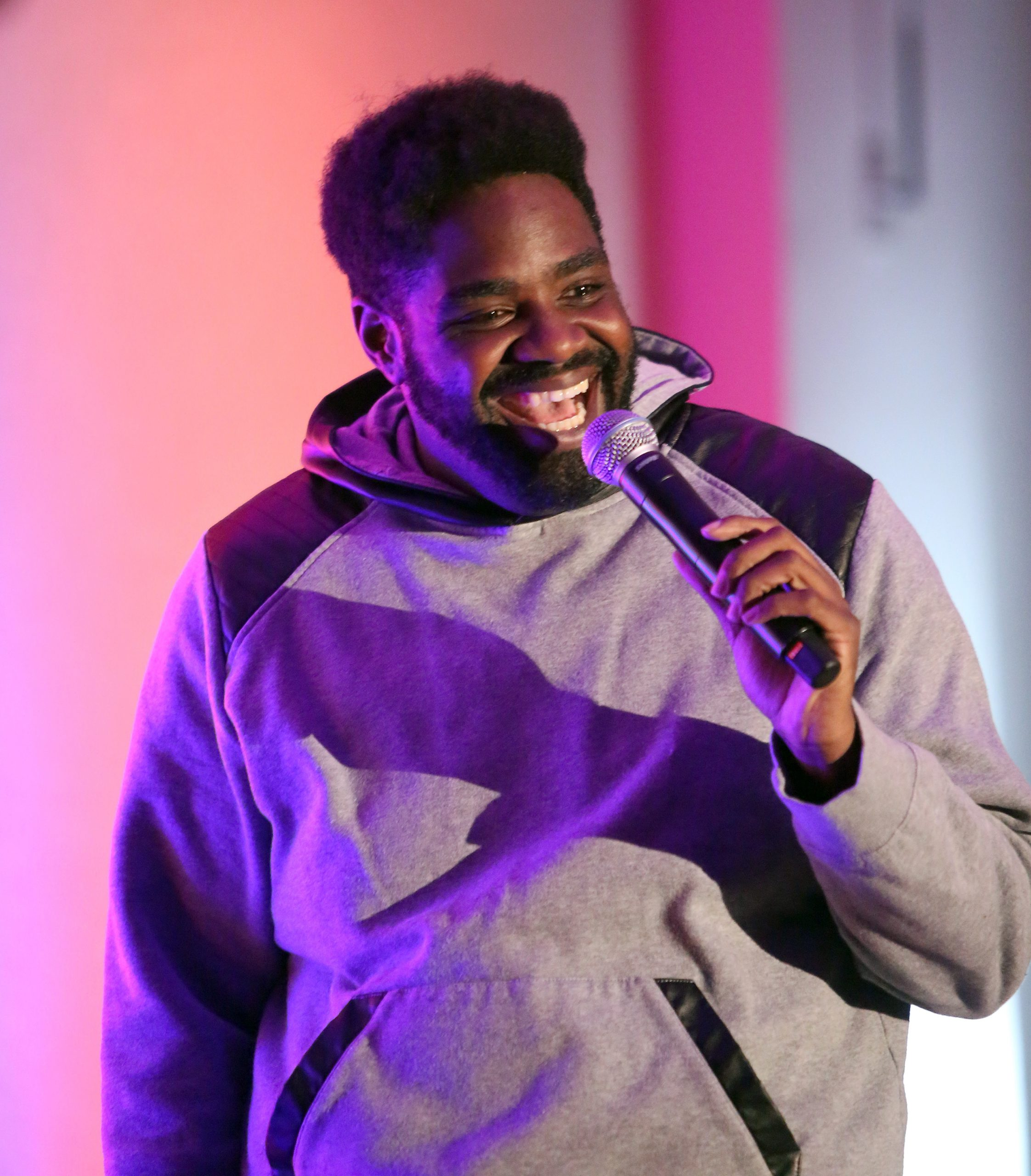 Stand-up Ron Funches, one of the friendliest comics on tour, brings his delightful humor to Thalia Hall Friday 8/11.