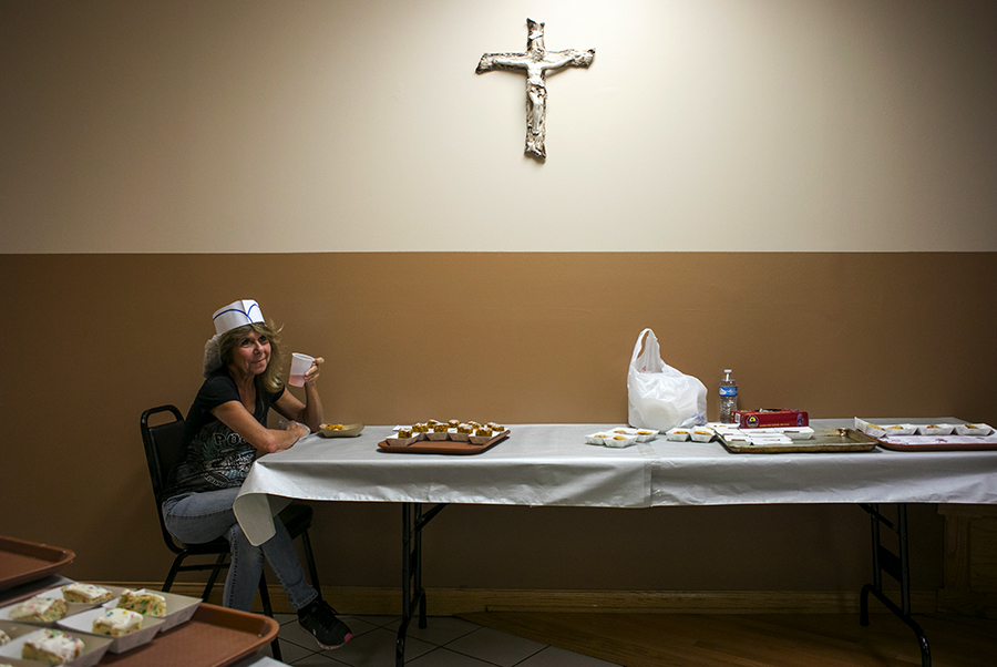 """I'm a dessert apprentice tonight,"" says Patty Blum, whose childhood home is just around the corner from Saint Albert the Great Catholic Church in Burbank."