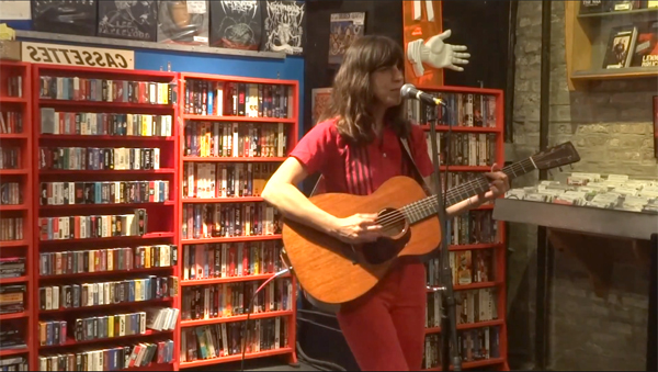 Eleanor Friedberger Band in-store at Reckless Records