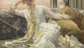 <i>July: Specimen of a Portrait,</i> by James Tissot