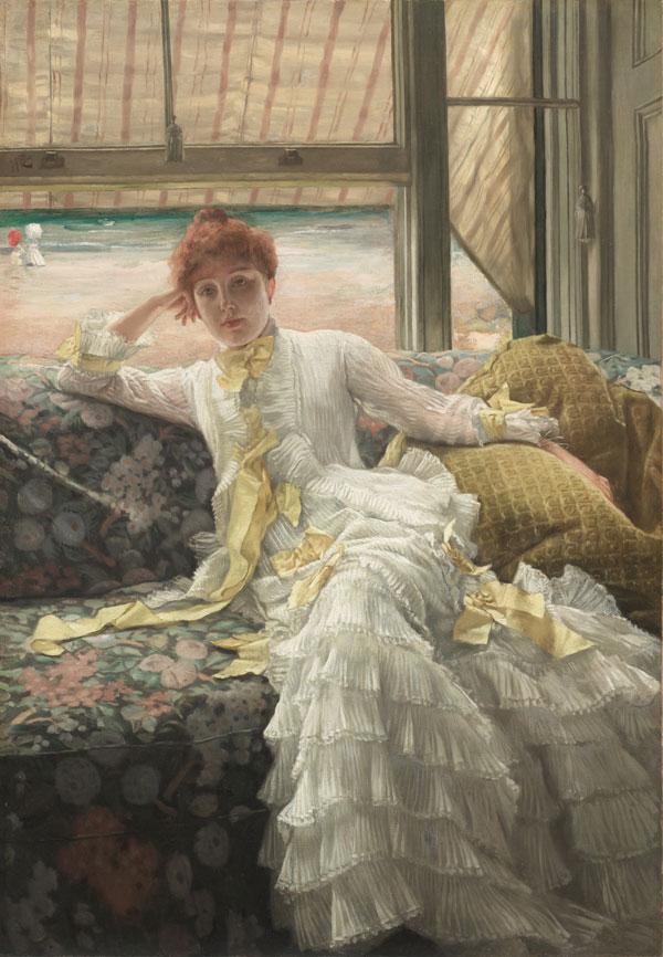 July: Specimen of a Portrait, by James Tissot