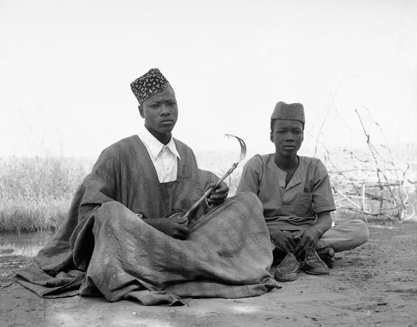 Doulo Soumahilou and Ibrahima Douma, Niger, 1961