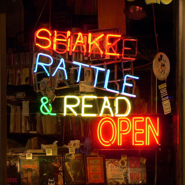 Shake Rattle & Read, which sells used books and records at 4812 N. Broadway