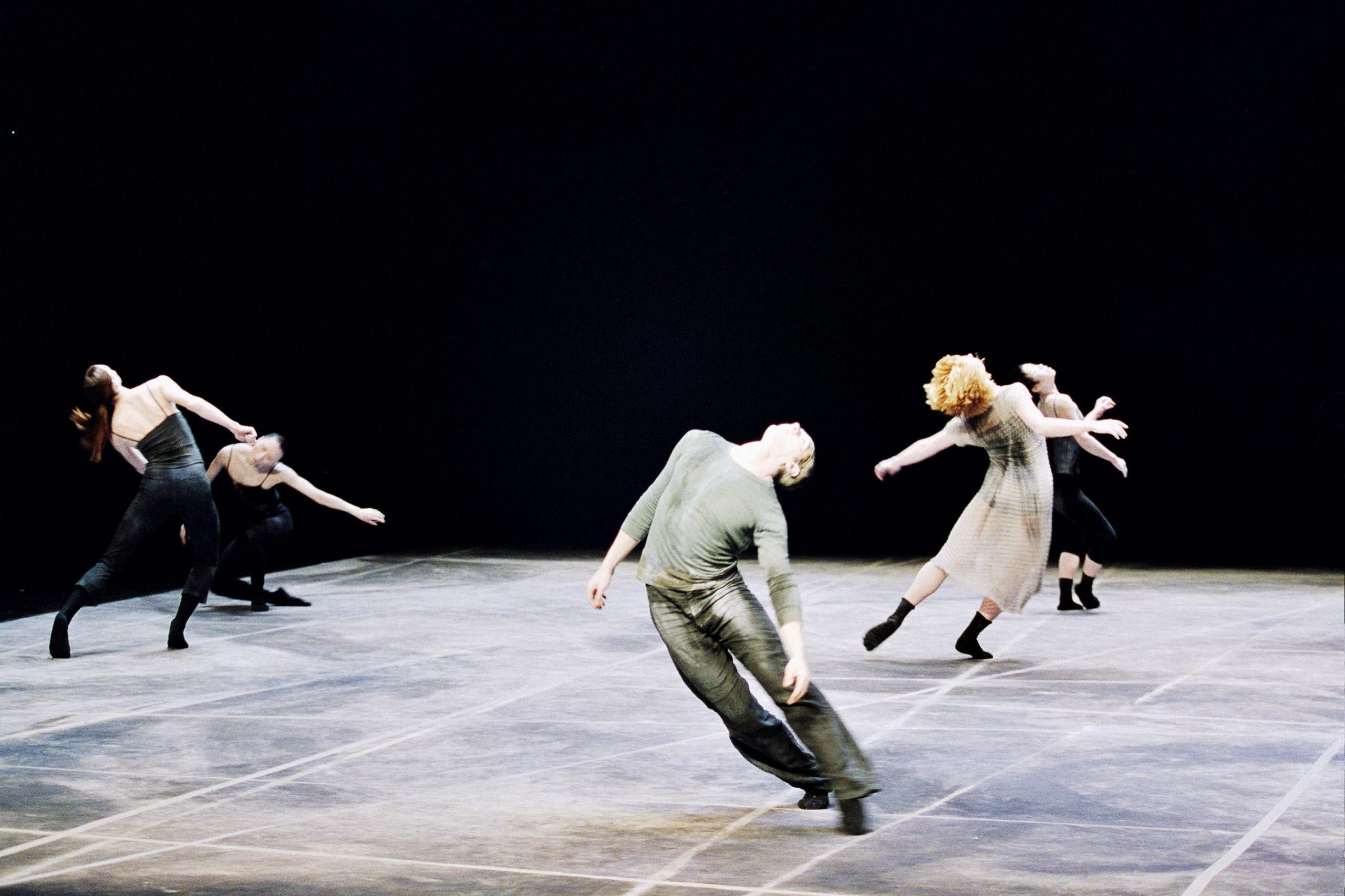 A moment from Rite of Spring, one of the dance pieces presented by renowned choreographer Shen Wei Saturday 9/23.