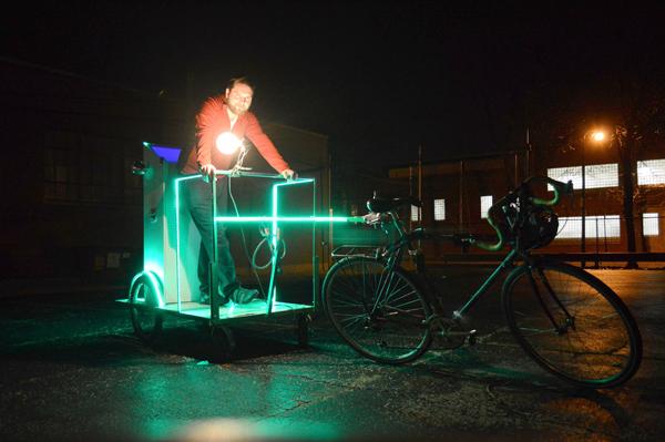 Alex Rauch built a mobile karaoke club.