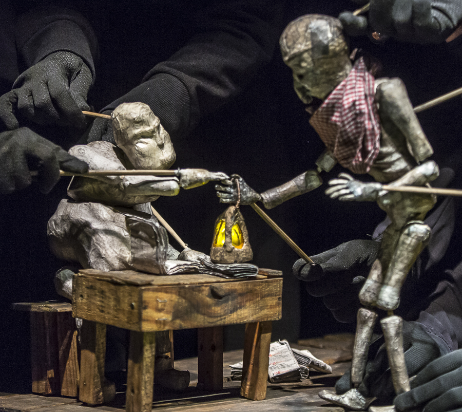 Silencio Blanco presents <i>El Chiflón del Diablo</i> as part of the Chicago International Puppet Theater Festival.