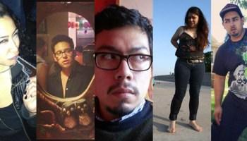 Ruth Guerra, Ricardo Gamboa, David Pintor, Veronika Miranda, and Mario Sanchez