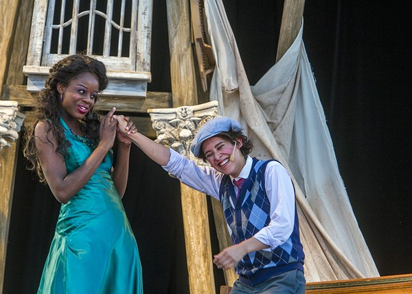 Chicago Shakespeare Theater's traveling <i>Twelfth Night</i>