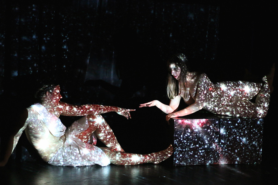 The Living Canvas's <i>Cathedrals</i>, part of Stage 773's nudity-themed one-act festival Skin in the Game