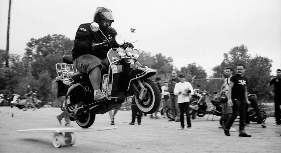 Scooter lovers unite this weekend during Slaughterhouse.