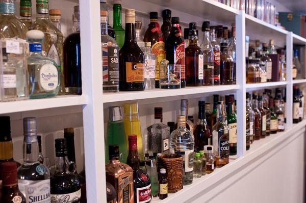 Basement of booze