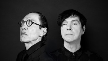 Ron (left) and Russell Mael are Sparks.