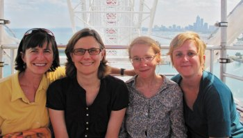 Third Coast's Gwen Macsai, Johanna Zorn, Julie Shapiro, and Katie Mingle