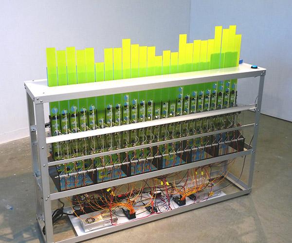 Stephen Cartwright, <i>Deviation</i>, 2012, acrylic, aluminum and mixed media