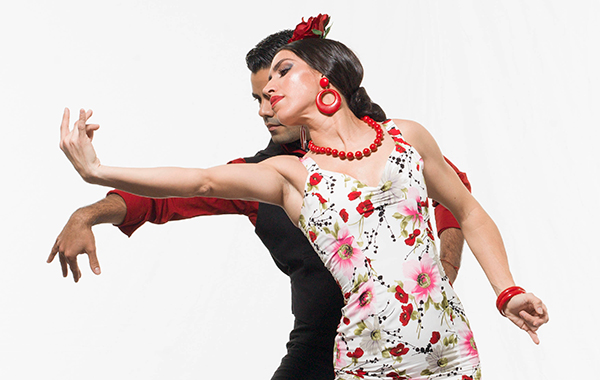 Ensemble Espanol Dance performs at Stomping Grounds on Mon 4/4.