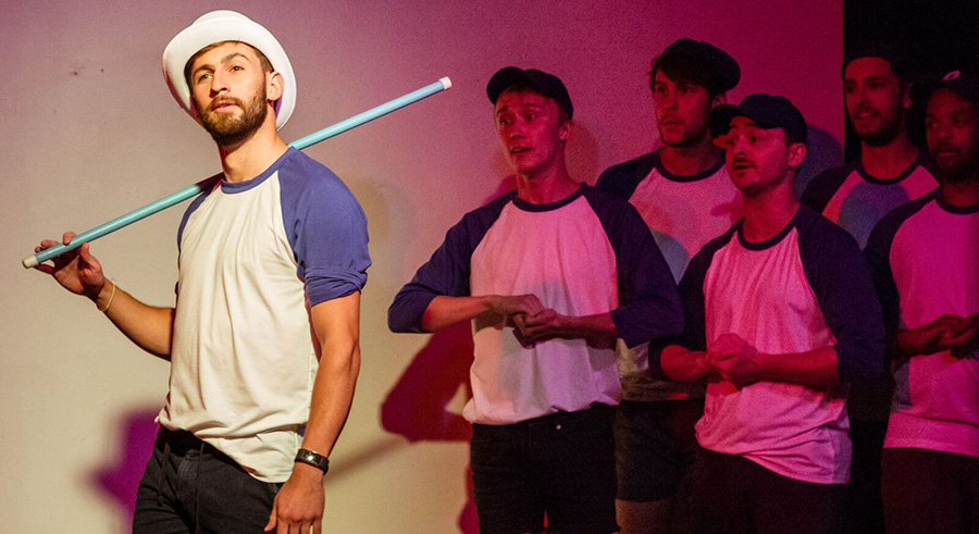 <i>Striking Out: A Gay Baseball Musical</i>, at the Annoyance