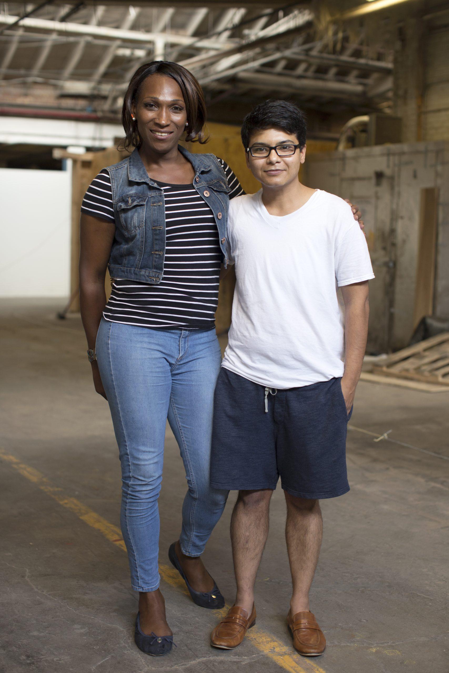 Monica James and Tanvi Sheth