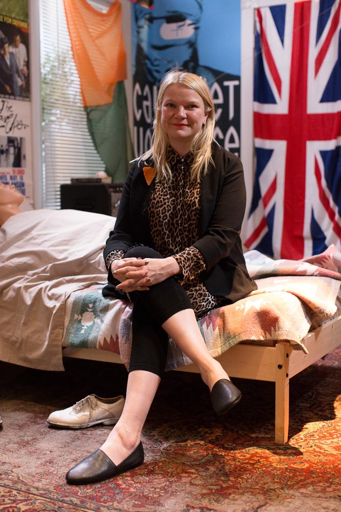 Sarah Keenlyside, one of the artists behind the Ferris Bueller bedroom recreation