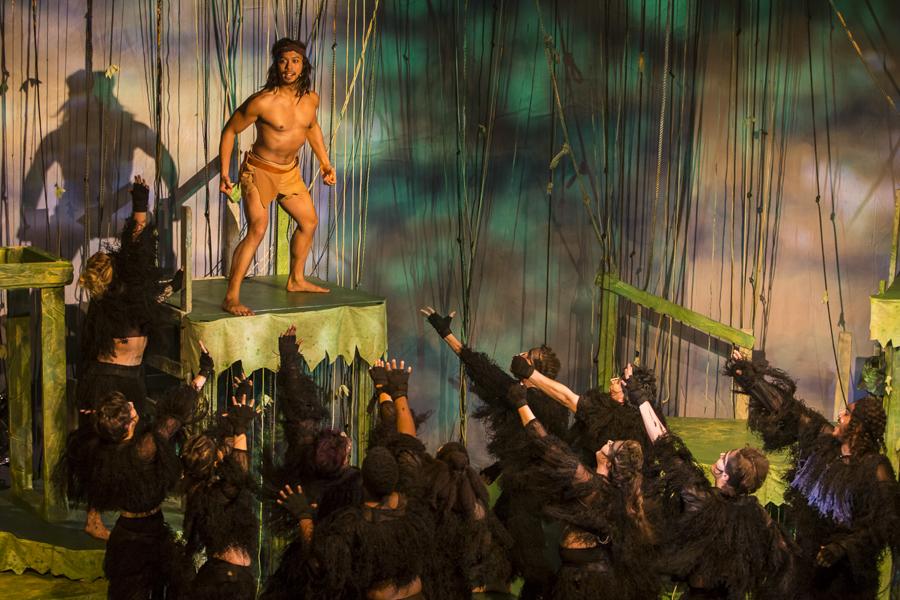 Jomar Ferreras in NightBlue's <i>Disney's Tarzan</i>