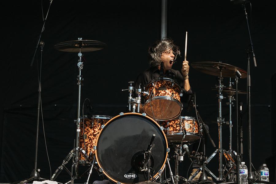 Avengers drummer Luis Illades