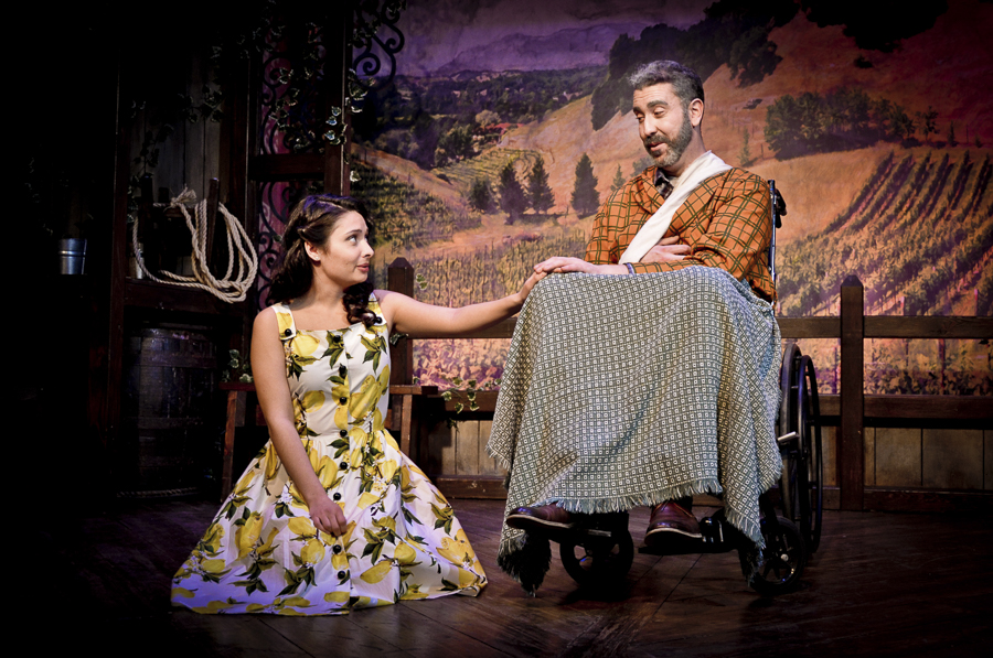 Molly Hernandez and William Roberts in Theo Ubique's <i>The Most Happy Fella</i>
