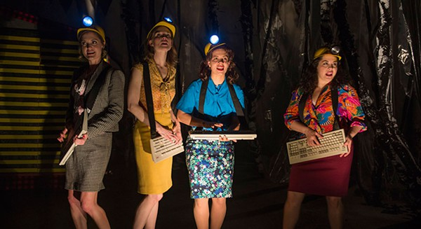 About Face Theatre's <i>The Secretaries</i>, at Theater Wit