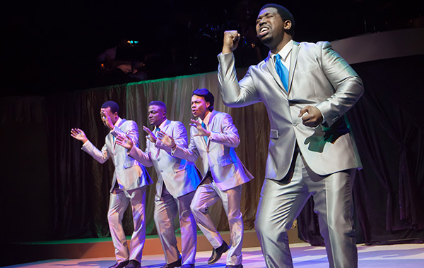 <i>Those Sensational Soulful 60s</i>, playing in repertory at Black Ensemble Theater with <i>Doo Wop Shoo Bop</i>