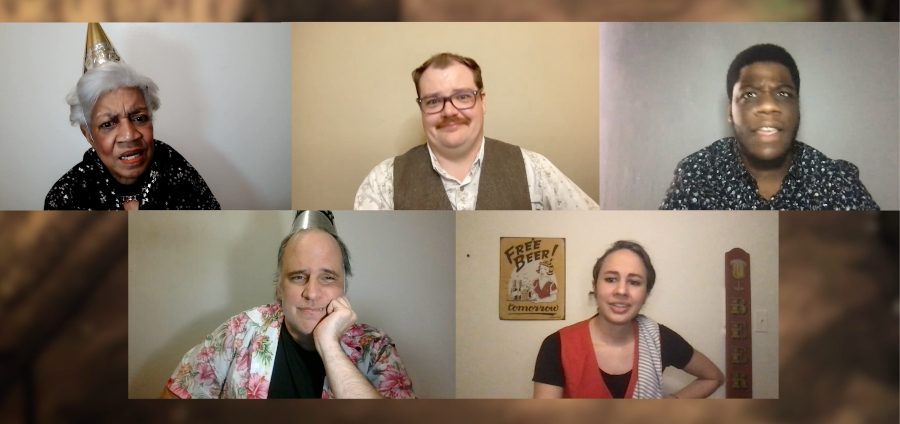 The cast of Waiting for Tina Meyer