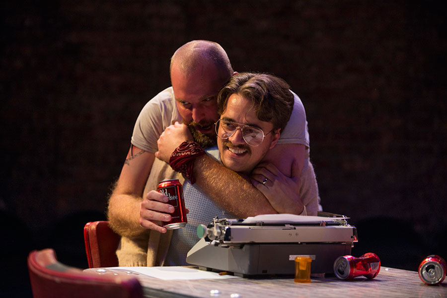 Shattered Globe Theatre's <i>True West</i>, at Theater Wit