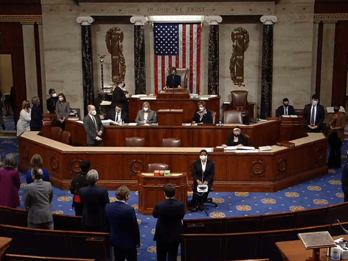 The corporate-backed House vote to impeach Trump a second time is more proof of who's really in charge in Washington.