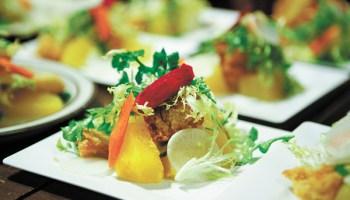 Salad at Tuesday Night Dinner